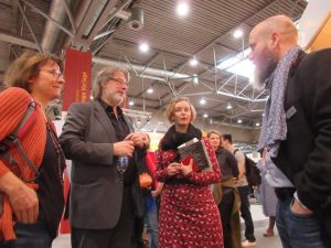 Vera Rosenbusch, Lutz Flörke, Kathrin Wildenberger und Ansgar Köb