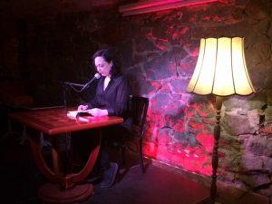 Stefanie Schleemilch liest beim Indie-Abend im Beyerhaus (Gewölbe)