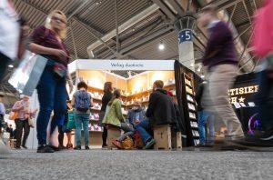 Der duotincta-Stand auf der Leipziger Buchmesse 2019