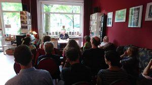Michael Kanofsky liest im Periplaneta Literaturcafè