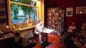 Bernd Lüttgerding liest im Periplaneta Literaturcafé